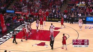 Quarter 2 One Box Video :Bulls Vs. Raptors, 10/12/2017