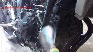 Tips Menglihangkan Kerak Membandel Pada Mesin Motor