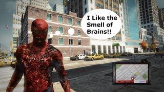 The Amazing Spiderman Marvel Zombie Skin