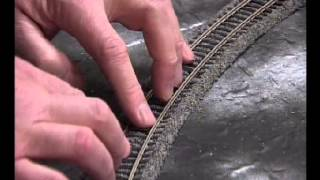 Make a Simple Model Railway Part 3 - Track laying