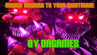 SFM| Fredbear and Nightmare (!REDO!)|music by: DAGames - March Onward