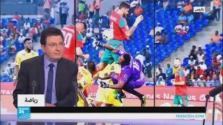 تقدم المنتخب المغربي على توغو بهدفين مقابل هدف في الشوط الأول