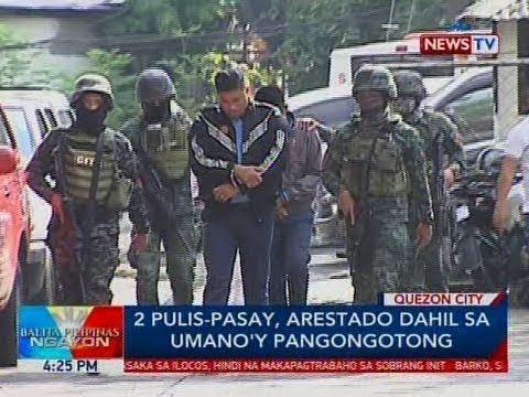 Xxx Mp4 BP 2 Pulis Pasay Arestado Dahil Sa Umano Y Pangongotong 3gp Sex