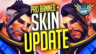 Overwatch - Hanzo Casual Skin REWORK! Pro Player XQC 7 Day BAN!