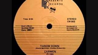 Carmen - Throw Down (1986)