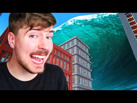 Can You Survive The Massive Tsunami