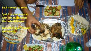 How to prepare Sajji I Balochi Sajji I Chicken Sajji