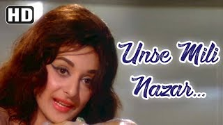 Unse Mili Nazar | Jhuk Gaya Aasman | Rajendra Kumar | Saira Banu | Bollywood Songs | Lata Mangeshkar