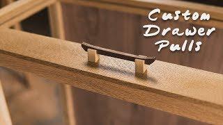 Custom Wood Drawer Pulls