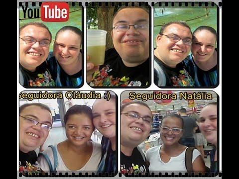 Vlog Passeando Comprinhas de Mercado Encontro com Seguidoras