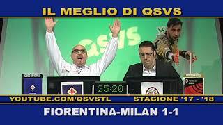 QSVS - I GOL DI FIORENTINA - MILAN 1-1  - TELELOMBARDIA / TOP CALCIO 24