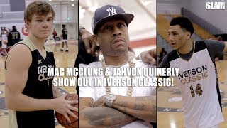 Mac McClung and Jahvon Quinerly SHOW OUT in Iverson Classic!