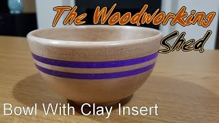 Bowl With Clay Insert
