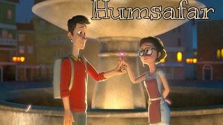 HUMSAFAR – Badrinath Ki Dulhania | Unplugged Cover | Animated love story| Online Music