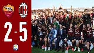 MILAN CAMPIONE U16 DE ITALIA ! Highlights Roma 2-5 Milan - Finale 2017 UNDER 16 | MilanActu HD