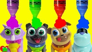 Puppy Dog Pals Bath Time Fun and Surprises