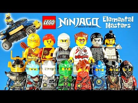 Lego ninjago elemental masters set bonus unofficial lego - Lego ninjago nouvelle saison ...