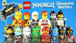 LEGO Ninjago Elemental Masters Set bonus Unofficial LEGO Minifigures w/ Samurai VXL Mini Build