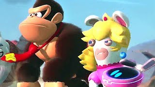 MARIO + RABBIDS KINGDOM BATTLE : Donkey Kong Adventure DLC Trailer (E3 2018)