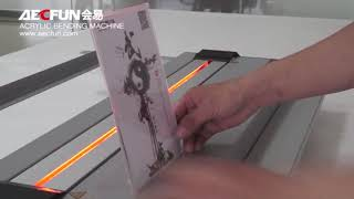 How to use acrylic bender to bend acrylic, plexiglass, perspex?