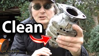 How to Clean the Catalytic Converter Using Lacquer Thinner - Car DIY with Scotty Kilmer