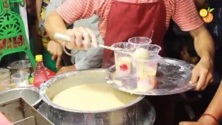 Street Food India - Falooda Milk Badam - Indian Street Food - Street Food 2016