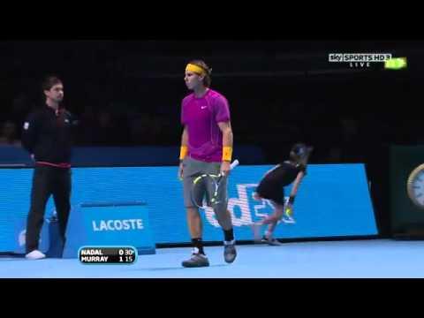 Nadal Vs Murray ATP world tour finals 2010 semi final ful match 1