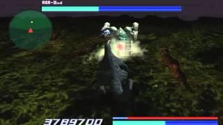 Godzilla Generations: Maximum Impact Stage 5-1 MGR IInd