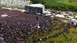 Funny moment, Download Festival 2013 England.... PANIC ATTACK