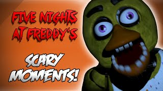 Five Nights At Freddys! - JUMPSCARES FOR DAYS! (Funny Moments)