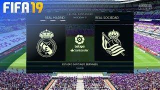 FIFA 19 - Real Madrid vs. Real Sociedad @ Estadio Santiago Bernabéu