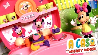 A Cozinha da Minnie e Margarida Disney A Casa do Mickey Mouse em Portugues toysbr Kitchen Cocina
