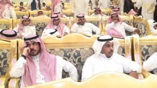 الحفل الخطابي في حفل الشيخ سعود بن عويد الميزاني بمناسبة زواج ابنه احمد سعود الميزاني