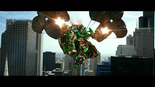 Transformers: Age of Extinction - Drone Ship Chase Scene 1080p HD