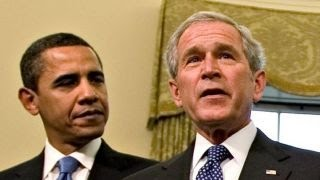 Democrats say Bush is to blame for Obama