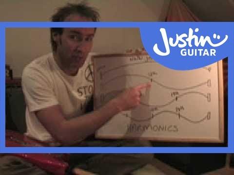 How Harmonics Work (Guitar Lesson TE-010) How to play