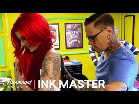 Xxx Mp4 Sexy Proportionate Pin Up Elimination Tattoo Ink Master Shop Wars Season 9 3gp Sex
