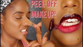 PEEL OFF MAKEUP & LIPGLOSS TINT TATTOO | Ellarie