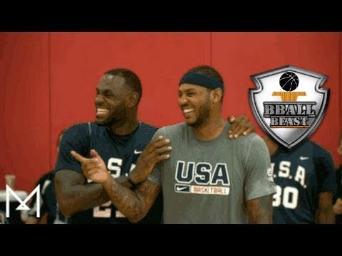 USA Basketball Funny Moments and Bloopers