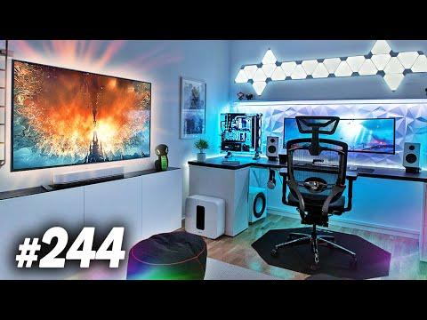 Room Tour Project 244 DOPE Desk & Gaming Setups
