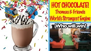 Thomas and Friends Hot Chocolate World's Strongest Engine Kids Toys