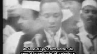 Discurso de Martin Luther King subtitulado en castellano, primera parte