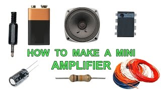how to make a amplifier