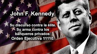 El discurso por el cual asesinaron a John F. Kennedy