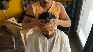 Head and back massage