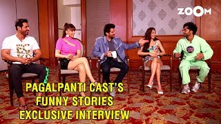 Kriti & Pulkit confess their love, Anil Kapoor on how John fainted, Funny stories by Pagalpanti cast