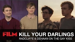 Daniel Radcliffe & Dane DeHaan's Gay Kiss Secrets - Kill Your Darlings Interview