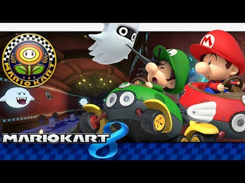 Mario Kart 8 Flower Cup 150cc 4 Player