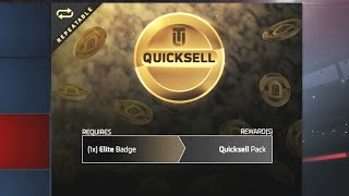 1 Elite Badge For 1 Large Quicksell?!? | Madden 17 Ultimate Team All Pro Pack Opening