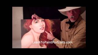 How to Paint Hair Part One.wmv